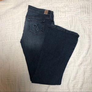 Guess Dark Wash Bootcut Jeans